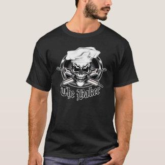 Camiseta Crânio 1 do cozinheiro chefe