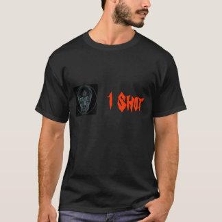 Camiseta Crânio 2 do Crosshair, 1 tiro