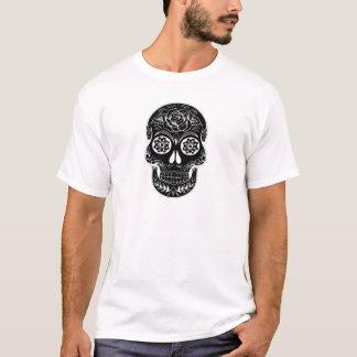 Camiseta Crânio abstrato