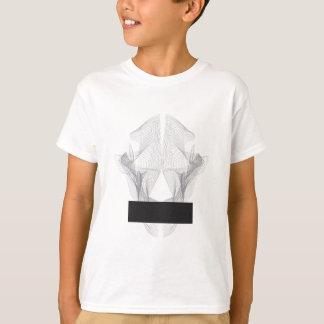 Camiseta Crânio abstrato do urso