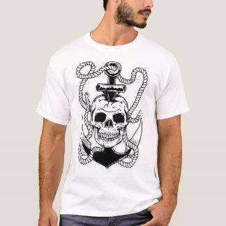 Camiseta Crânio & âncora