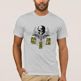Camiseta Crânio & asas de GONZO