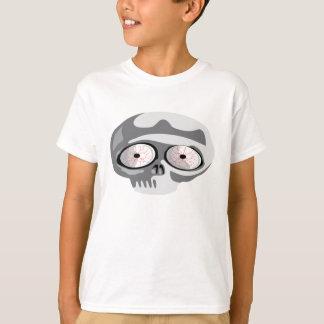 Camiseta Crânio assustador