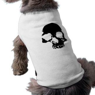 Camiseta Crânio assustador do Dia das Bruxas