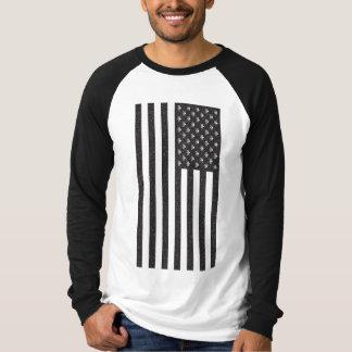 Camiseta Crânio & bandeira americana dos Crossbones