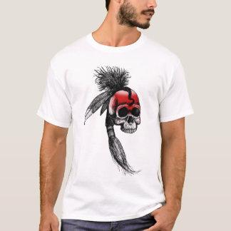Camiseta Crânio Cherokee vermelho