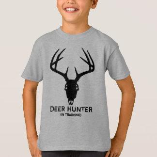 Camiseta Crânio da caça dos cervos com Antlers