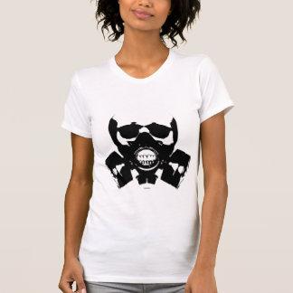 Camiseta Crânio da máscara de gás