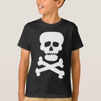 Camiseta Crânio da rocha da juventude