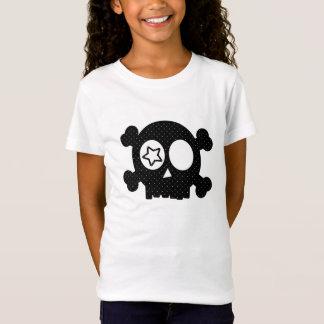 Camiseta Crânio das bolinhas