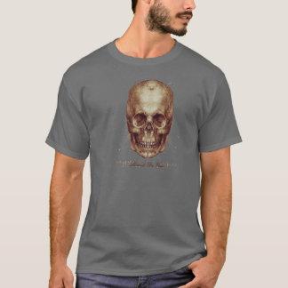 Camiseta Crânio de Leonardo