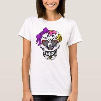 Camiseta Crânio do açúcar das senhoras