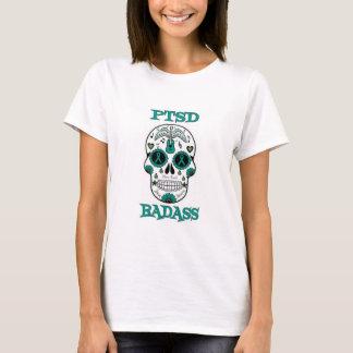 Camiseta Crânio do açúcar de PTSD BADASS