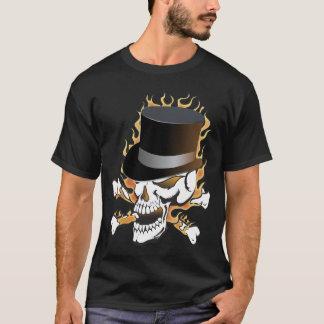 Camiseta Crânio do ardor Tophat