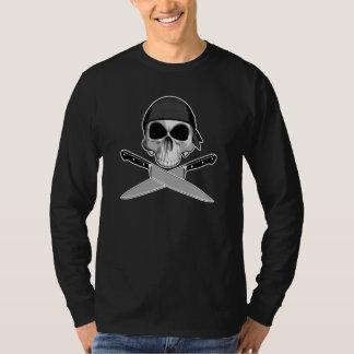 Camiseta Crânio do cozinheiro chefe com Bandana
