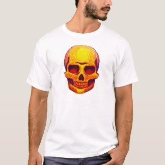 Camiseta Crânio do esboço