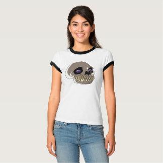 Camiseta Crânio do gato