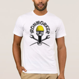 Camiseta Crânio do Ironworker