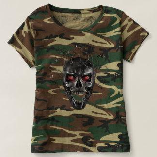 Camiseta Crânio do metal do Medusa