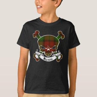 Camiseta Crânio do Tartan de Kerr