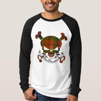 Camiseta Crânio do Tartan de MacNaughton