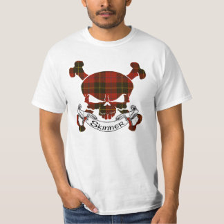 Camiseta Crânio do Tartan de Skinner
