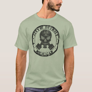 Camiseta Crânio do tóxico de Detroit
