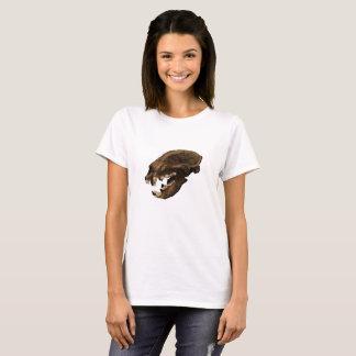 Camiseta Crânio do urso preto