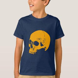 Camiseta Crânio do vampiro do fulgor alaranjado