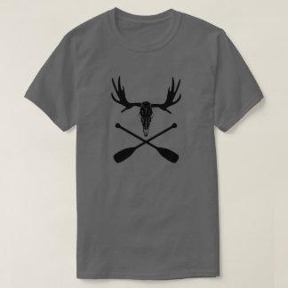 Camiseta Crânio dos alces e pás cruzadas