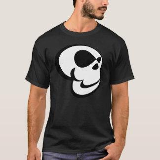 Camiseta Crânio dos desenhos animados