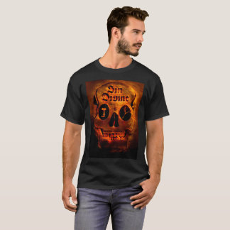 Camiseta Crânio dourado