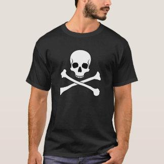 Camiseta Crânio e Crossbones