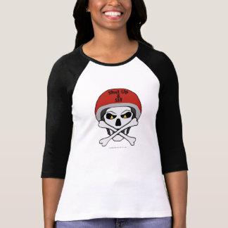 Camiseta Crânio e jérsei dos crossbones