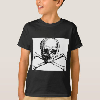Camiseta Crânio e ossos