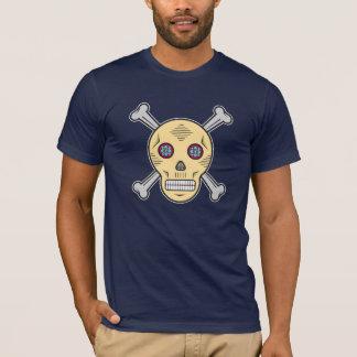 Camiseta Crânio e ossos do açúcar