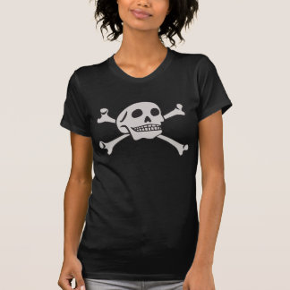 Camiseta Crânio e t-shirt dos Crossbones