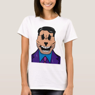 Camiseta Crânio elegante