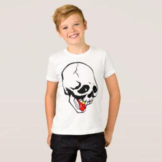 Camiseta crânio engraçado