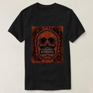 Camiseta Crânio feliz do Dia das Bruxas