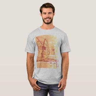 Camiseta Crânio iluminado