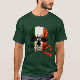 Camiseta Crânio irlandês