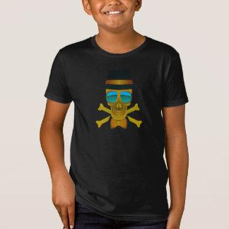 Camiseta Crânio legal & Crossbones no t do divertimento dos