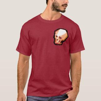 Camiseta Crânio (marrom)