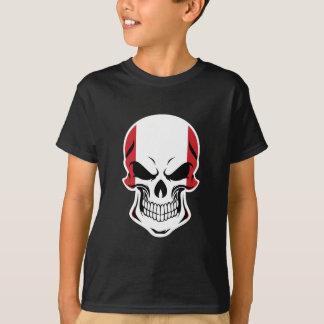 Camiseta Crânio peruano da bandeira