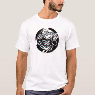 Camiseta Crânio pisc feito sob encomenda da barbearia