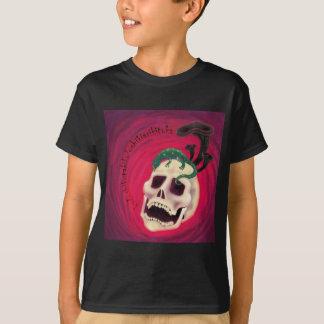 Camiseta crânio salamandre