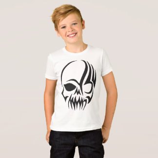 Camiseta Crânio Shirt enlace para meninos