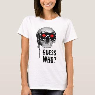 Camiseta Crânio - suposição quem? customizável