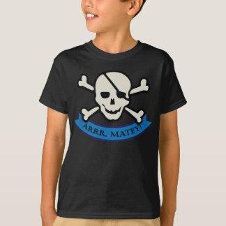 Camiseta Crânio - t-shirt básico do Hanes Tagless dos